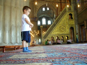 """The Prophet said: """"Command your children to pray at the age of seven and beat them for it at the age of ten."""""""