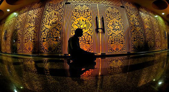What is the relationship between faith and prayer? How does Allah describe prayer in the Qur'an?