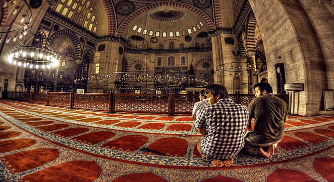 What do scientists say about the psychological benefits of prayer? How could a Muslim face difficulties and hardships through Prayer?