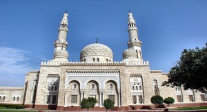 A mosque in Dubai