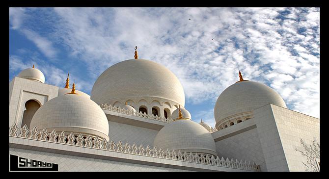 Sheikh Zaied's Mosque in UAE.