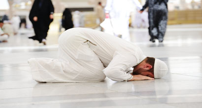 What is the wisdom of tranquility during the prayer?
