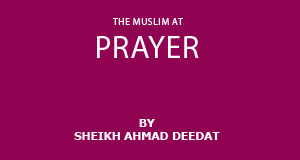 The Muslim at Prayer Prayer