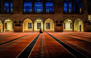 A Muslim offers prayer at a mosque - All About Fajr Prayer