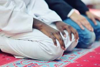 How Should Two People Praying Together Stand in Prayer?