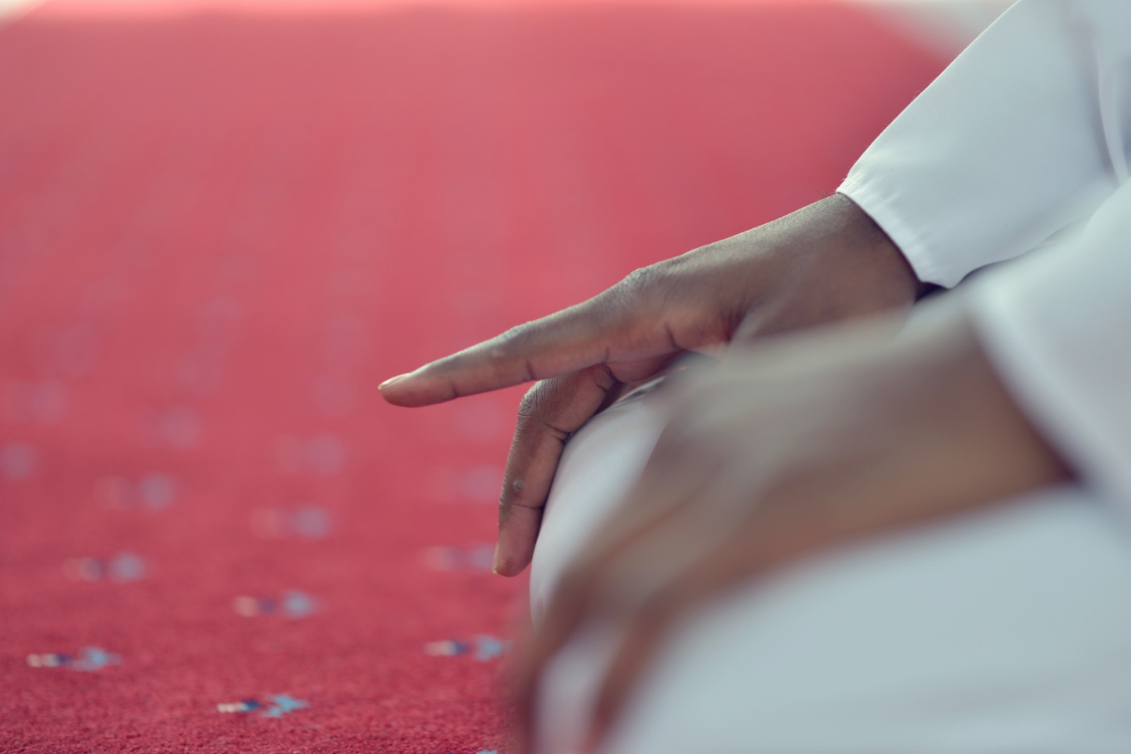 Moving The Index Finger In Tashahhud During Prayer