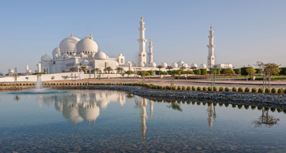 Sheikh Zaid's Mosque in Abu Dhabi, UAE.