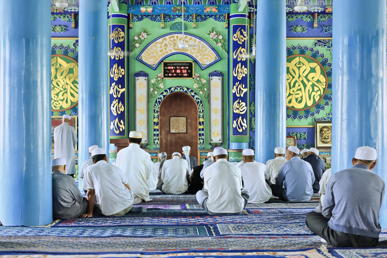 Making Tasleem Along With the Imam In Prayer