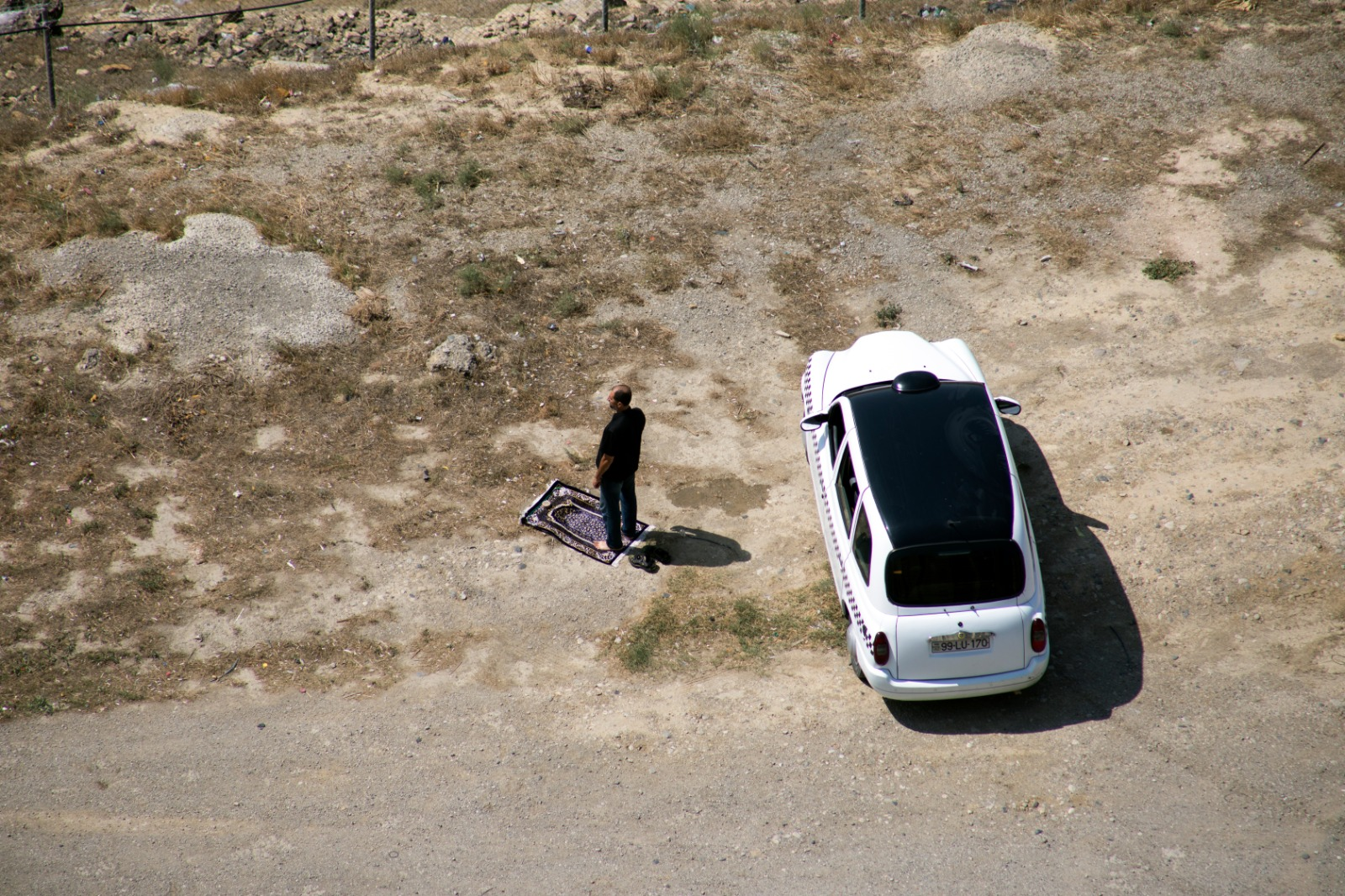 What Is the Ruling of Praying in Car Without Facing the Qiblah?